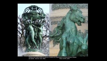 Les fontaines à Paris