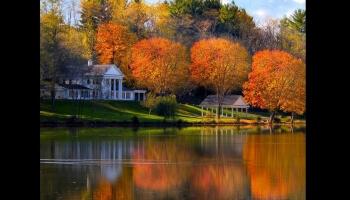L'arrivée des couleurs à l'automne