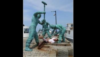 Diaporamas PPS - Mise en scène avec des statues