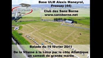 Balade en ULM au club des Sans borne