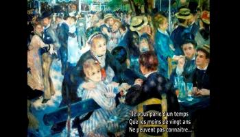 Diaporamas PPS - La bohème, Montmartre et Aznavour