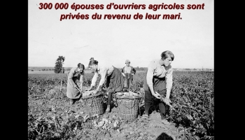 Les femmes pendant la guerre de 14-18