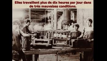 Diaporamas PPS - Les femmes pendant la guerre de 14-18
