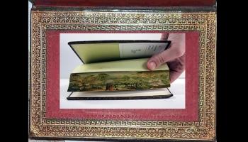 Diaporamas PPS - Des peintures cachées dans la tranche des livres