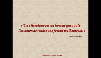 Diaporamas PPS - Citations contre les hommes