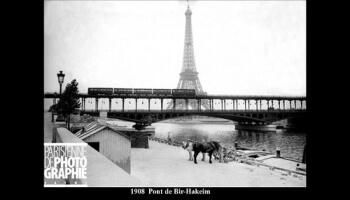 Construction du métro à Paris